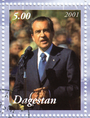 Richard Nixon stamp