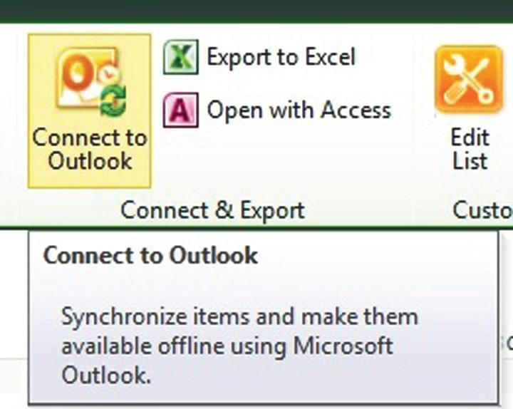 SharePoint and Outlook