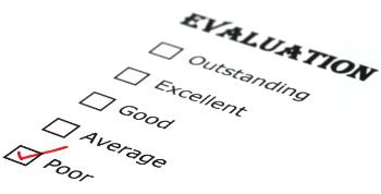 poor evaluation