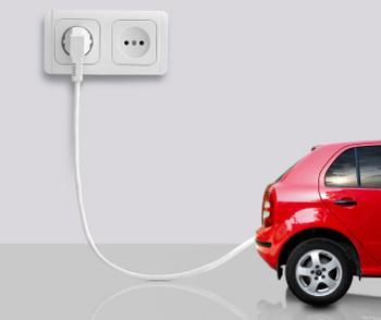 plug-in electric car