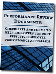 Performance Review Documents book cover