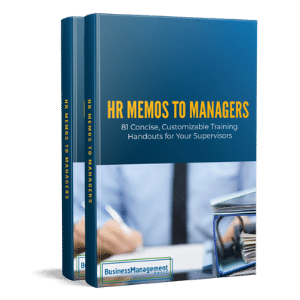 HR Memos to Managers Volumes 1 and 2