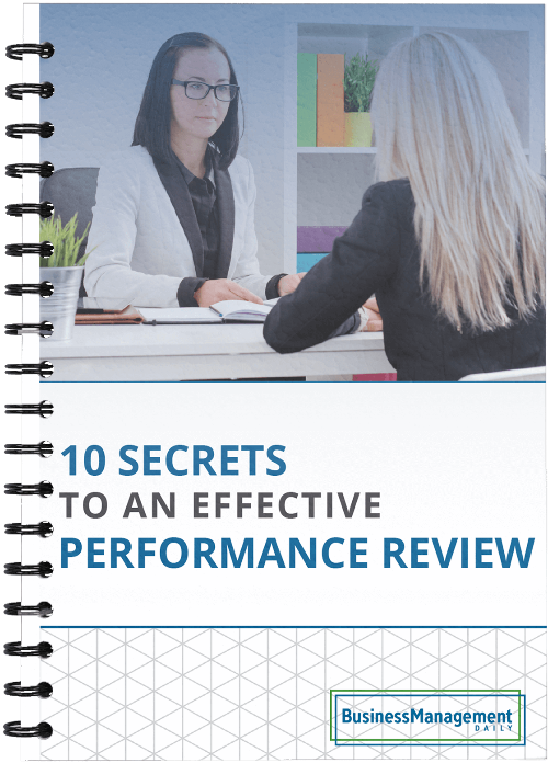 10 Secrets to an Effective Performance Review: Examples and tips on