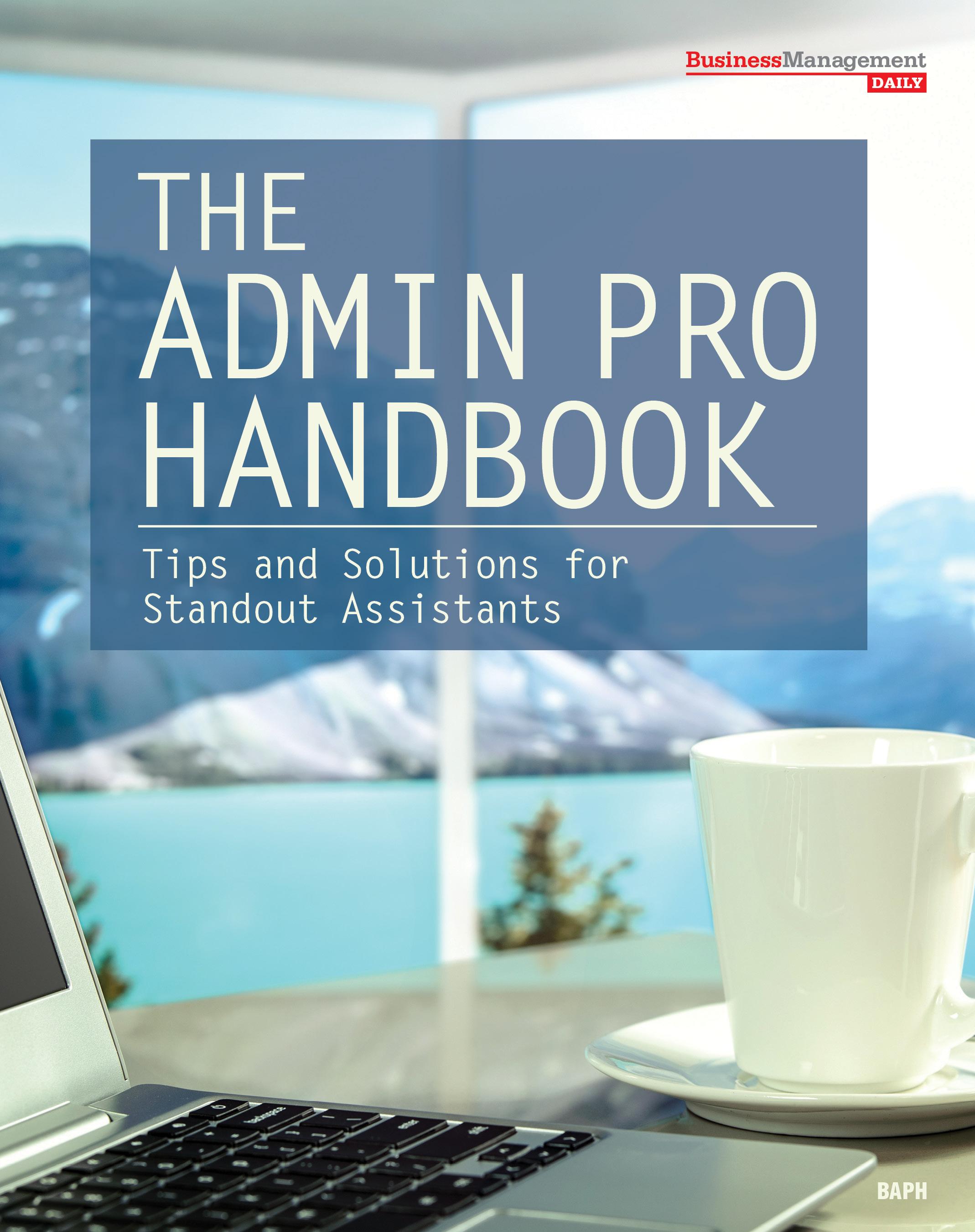 The Admin Pro Handbook