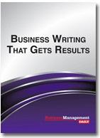 Business Writing That Gets Results