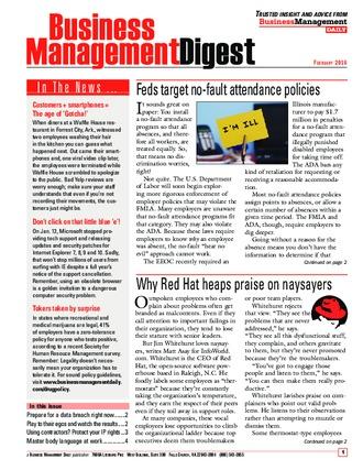 Business Management Digest