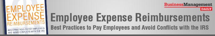 Employee Expense Reimbursements