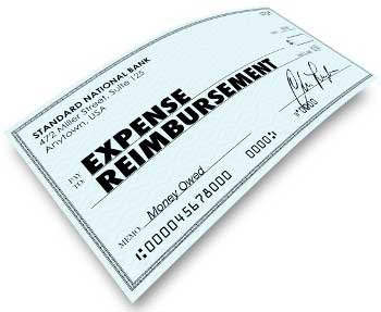 Expense Reimbursement Check