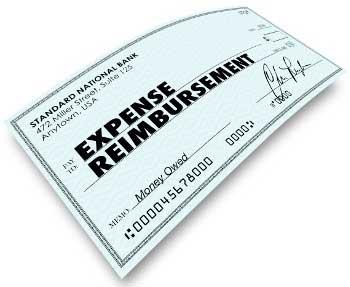Reimbursement Check