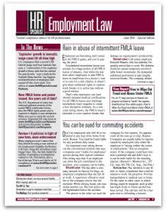 HR Specialist: Employment Law