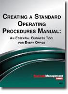 Creating A Standard Operating Procedures Manual  Free Office Procedures Manual Template