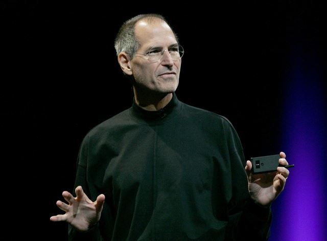 Steve Jobs presentation