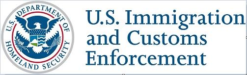 US Immigration and Customs Enforcement logo