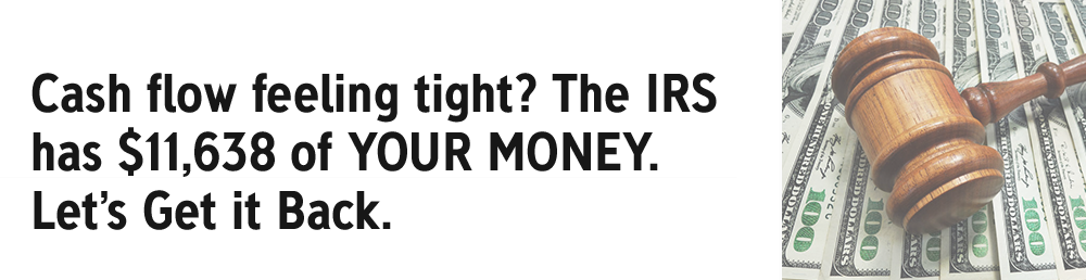 IRS has your money