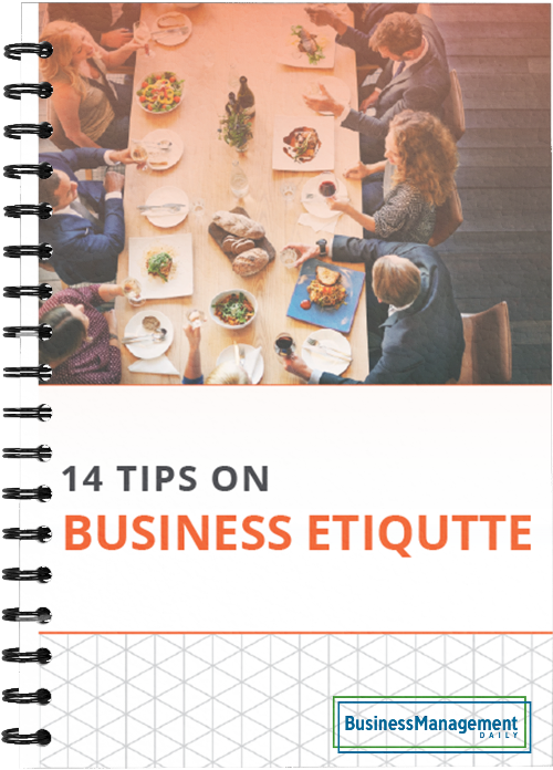 14 Tips on Business Etiquette: Setting a professional tone with co