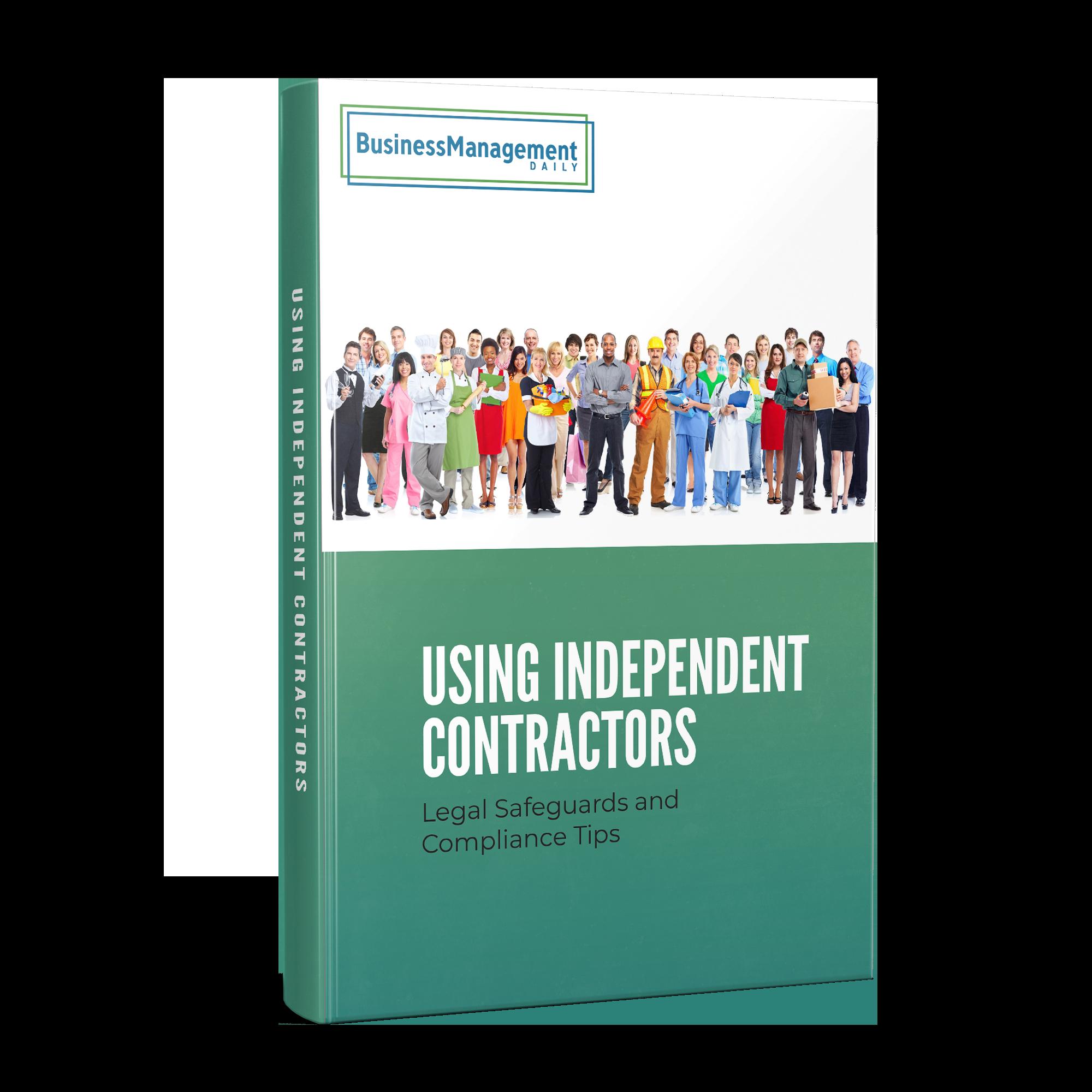 Using Independent Contractors