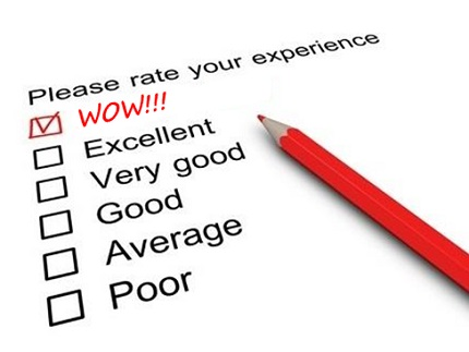 Customer Experience Rating