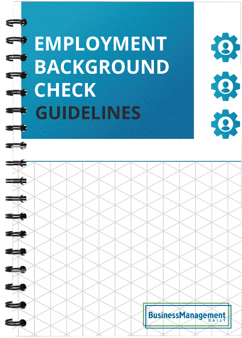 Employment Background Check Guidelines: Complying with the Fair Credit Reporting Act, conducting credit background checks and running a criminal check to avoid negligent-hiring lawsuits Free Report