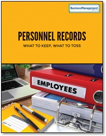 personnel records book