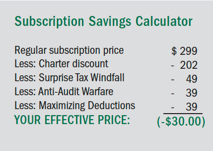 Subscription Savings Calculator