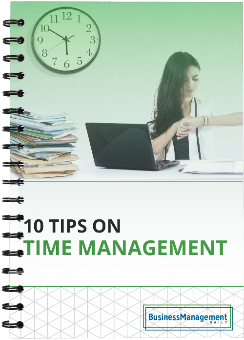 10 Time Management Tips: A how-to guide on efficiently managing your time through effective delegating, calendar management and using productivity tools Free Report