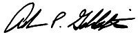 Adam Goldstein Signature