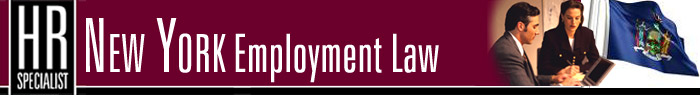 HR Specialist: New York Employment Law