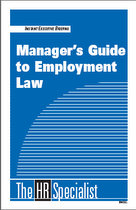 Manager's Guide to Employment Law