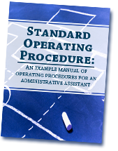 Standard Operating Procedure An Example Manual Of Operating