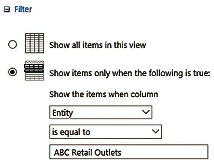 Folder filter
