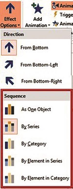 Effect options