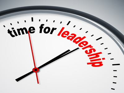 time for leadership clock