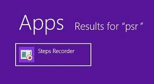 Problem Step Recorder