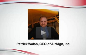 Interview With AirSign CEO Patrick Walsh
