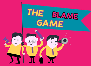 Stop the blame game at work and prevent selfish team members