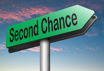 second chance sign