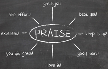 what s the right way to express praise business management daily