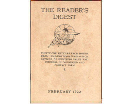 Reader's Digest: Born from rejection