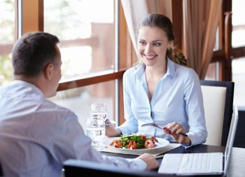 3 steps to surviving lunch with an executive