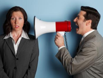 Can yelling be a leadership strategy?