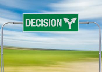 decision sign