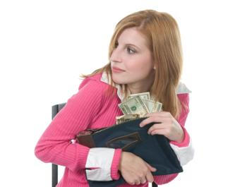 employee stealing money