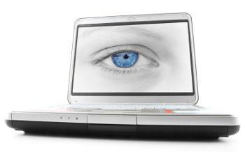 eye inside computer