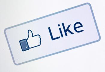 Facebook like button