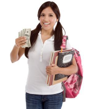 intern holding money