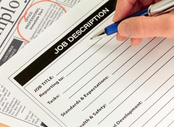 Job descriptions: Why you need 'em, how to write 'em