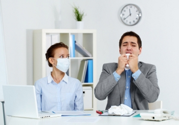 CDC: Sick leave cuts illness at work up to 10%