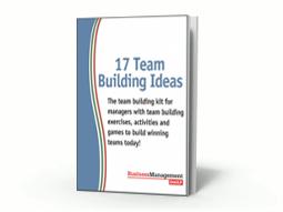 FREE REPORT: 17 Team Building Ideas