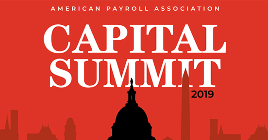 Tax issues prevail at American Payroll Association's Capitol Summit