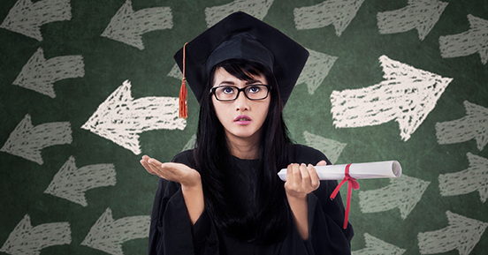 5 common errors of recent college graduates